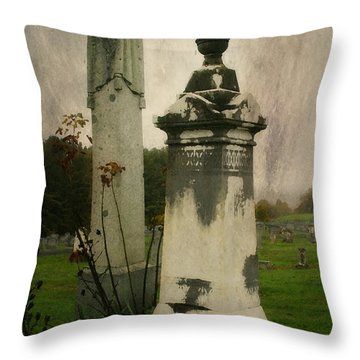 Throw Pillow featuring the photograph In The Silence by Joan Bertucci