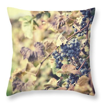 In The Vineyard Throw Pillow by Lisa Russo