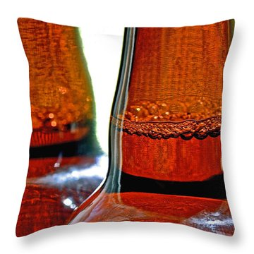 India Pale Ale Throw Pillow by Bill Owen