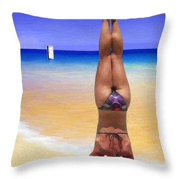 Individual Perspective Throw Pillow by Snake Jagger