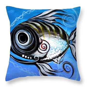 Industrial Goddess Throw Pillow by J Vincent Scarpace