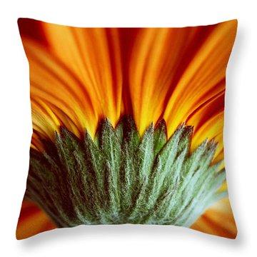 Inferno Throw Pillow by Melanie Moraga