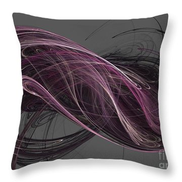 Throw Pillow featuring the digital art Infinity by Kim Sy Ok