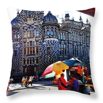 Inglesia Dulce Throw Pillow by Skip Hunt