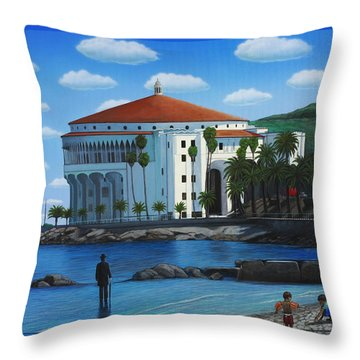 Innocent Daydreams Throw Pillow by Snake Jagger
