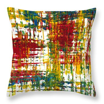 Inside My Garden 161.110411 Throw Pillow