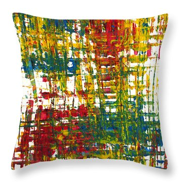 Inside My Garden II 162.110411  Throw Pillow