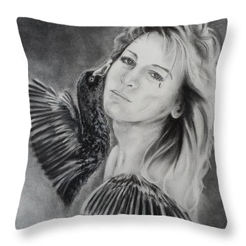 Inside Out Throw Pillow by Carla Carson