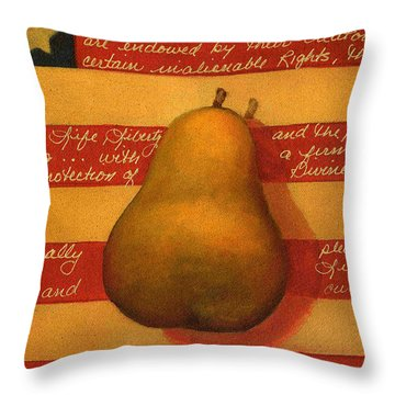Inspearation Throw Pillow by Victoria Page