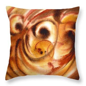 Inspiration Two  Throw Pillow by Irina Sztukowski