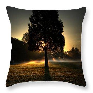 Inspirational Tree Throw Pillow