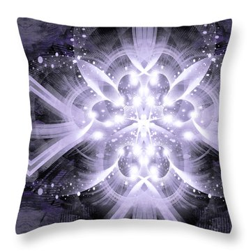 Intelligent Design 4 Throw Pillow by Angelina Vick