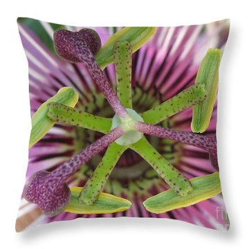 Interchange Throw Pillow by Tina Marie