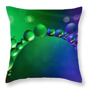 Intergalactic Space 4 Throw Pillow by Kaye Menner