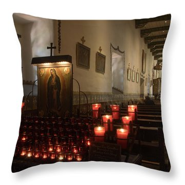 Interior Old Mission Throw Pillow by Bob Christopher