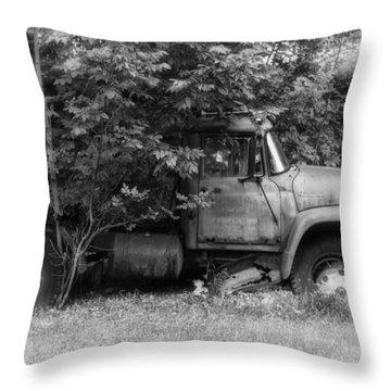 International Tree Planter Throw Pillow