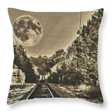 Intersection Throw Pillow by Shannon Harrington