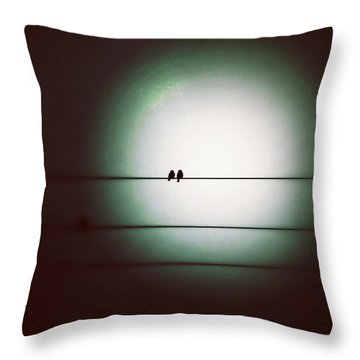 Into The Light - Instagram Photo Throw Pillow by Marianna Mills