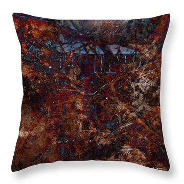 Into The Woods Throw Pillow by James Barnes