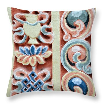 Throw Pillow featuring the photograph Intricate Details by Fotosas Photography