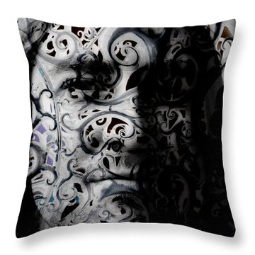 Intrigue Throw Pillow by Christopher Gaston