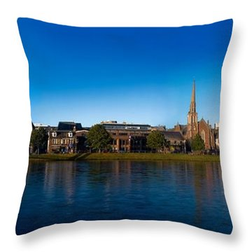 Inverness Waterfront Throw Pillow