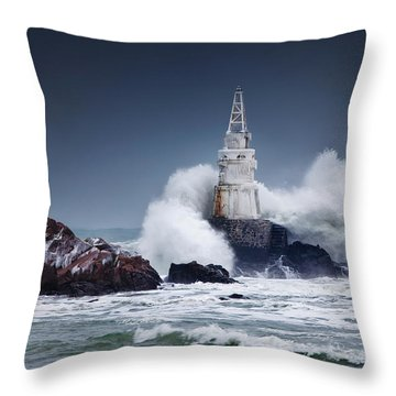 Invincible Throw Pillow by Evgeni Dinev