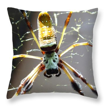 Invitation To Dinner Throw Pillow by Karen Wiles