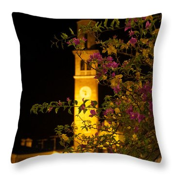Inviting Beauty Throw Pillow