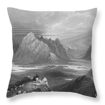 Ireland: Lough Inagh, C1840 Throw Pillow by Granger