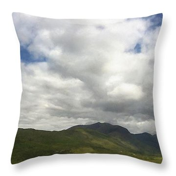 Ireland Panorama Throw Pillow