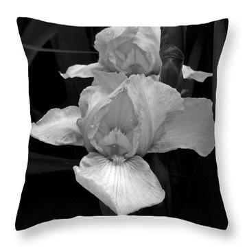 Throw Pillow featuring the photograph Iris by David Pantuso