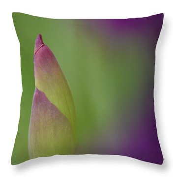 Iris-istible 1 Throw Pillow