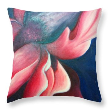 Iris O'keefe Throw Pillow