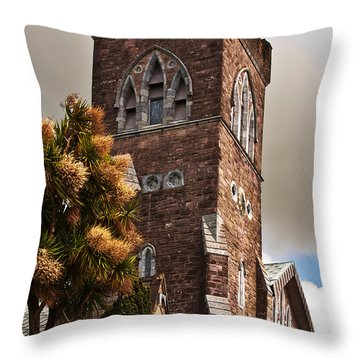 Irish Church Throw Pillow