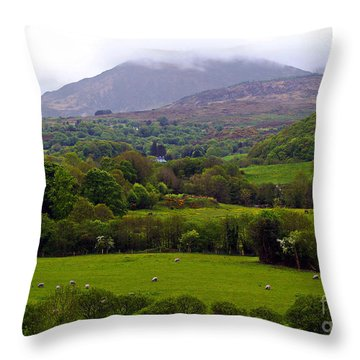 Irish Countryside II Throw Pillow