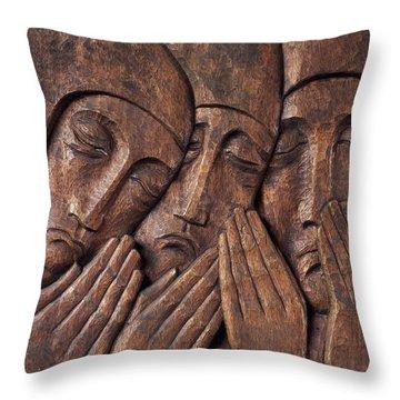 Irish Jewish Museum, Portobello Dublin Throw Pillow by The Irish Image Collection