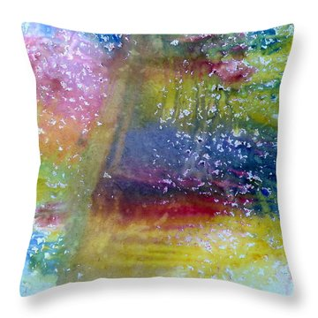 Irish Weather Throw Pillow by Tis Art