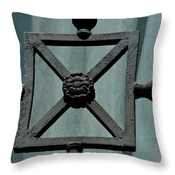 Iron Work Throw Pillow