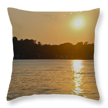 Irondequoit Bay  Throw Pillow