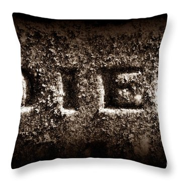 Irreversible Throw Pillow by Luke Moore