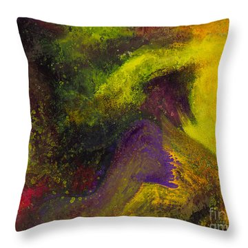 Island Dance Throw Pillow