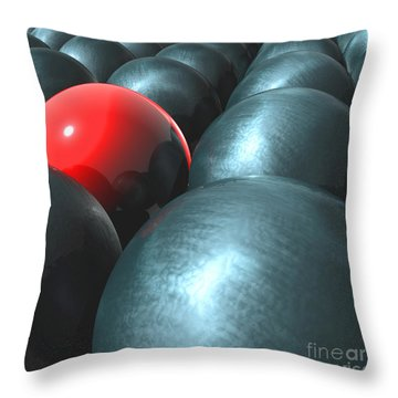 Isolated Throw Pillow by Stefano Senise