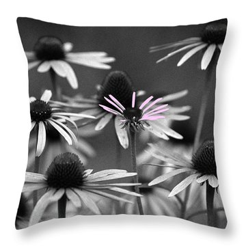 Throw Pillow featuring the photograph It Takes A Village by Wanda Brandon