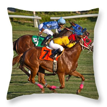 It Takes Talent Throw Pillow by Betsy Knapp