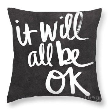 Ok Throw Pillows