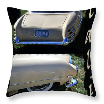 Throw Pillow featuring the photograph Italia by Larry Bishop