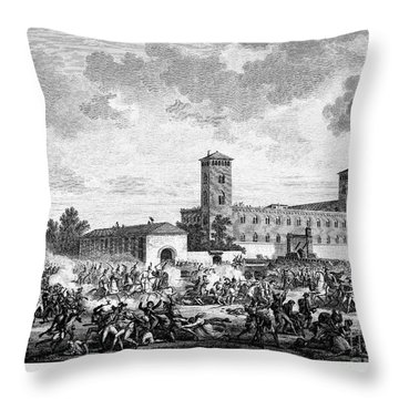 Italian Campaign, 1796 Throw Pillow by Granger
