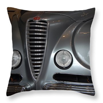 Throw Pillow featuring the photograph Italian Style by John Schneider