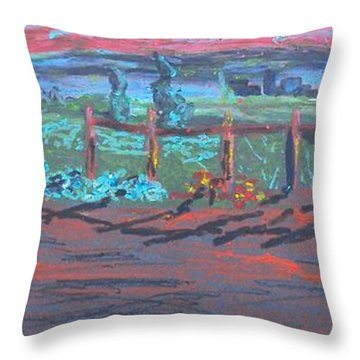 Italian Sunset No. 1 Throw Pillow